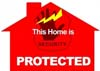home security sticker thumb